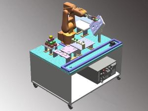 Industrial Robot Basic Training System