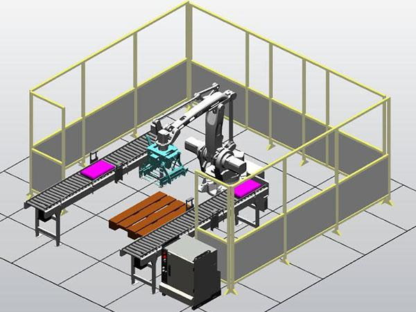 Palletizing Robot Training System