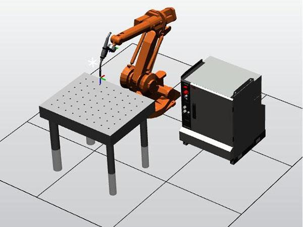 Welding Robot Training System