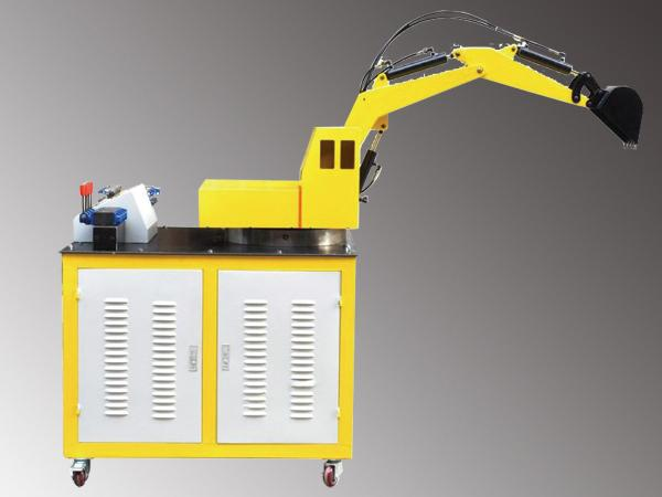 Excavator Hydraulic System and PLC Control Training System