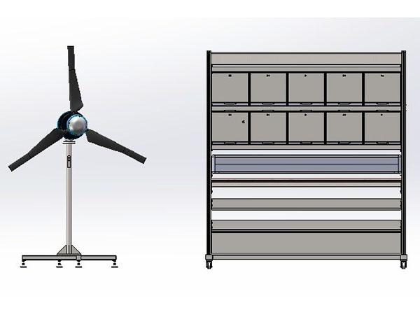 Wind Energy Off-grid Training System